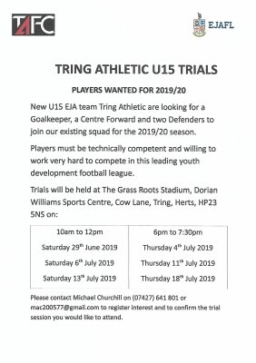 Tring Athletic Football Club